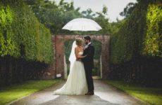Дождь на свадьбу — народные приметы