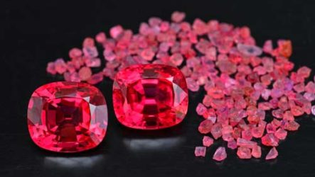 Камни красного цвета — разновидности и свойства